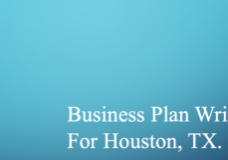 Business Plan Writer for Houston, TX.